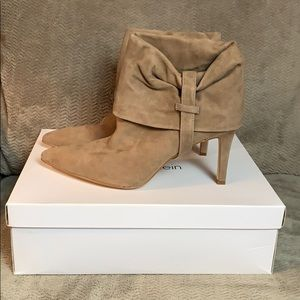 Calvin Klein Bethany Suede Mink Boots 👢